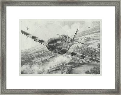 Whoo A Train Framed Print