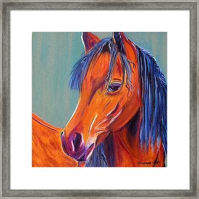 Whoopi Framed Print by Andrea Folts