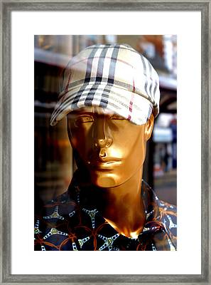 Whoops Chav Framed Print by Jez C Self