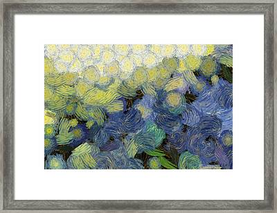 Whorls And More Whorls Framed Print