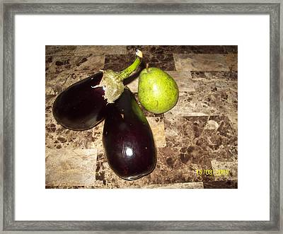Who's Cooking Framed Print