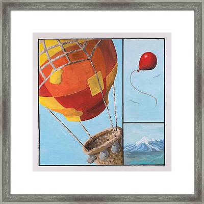 Who's Flying This Thing? Framed Print