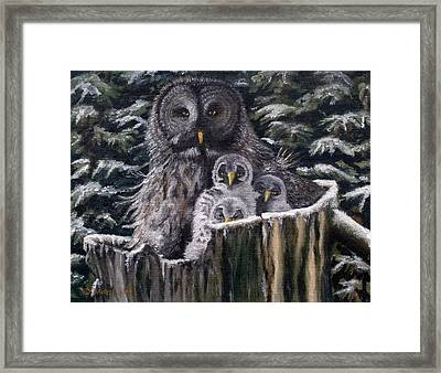 Who's Looking At Who Framed Print by Diane Daigle