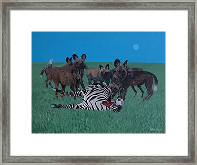 Who's Next Framed Print by Anthony Morris