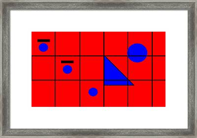 Framed Print featuring the digital art Who's To Say What God Looks Like  by Cletis Stump