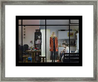 Why Framed Print by Aad Vogel