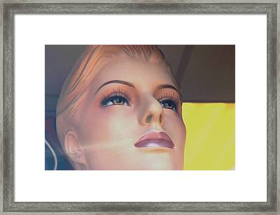 Why Did I End It Framed Print by Jez C Self