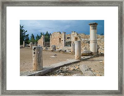 Why Did They Build Ruins Framed Print