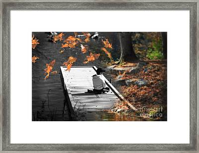 Why Does Everything Have To Change Framed Print by Cathy  Beharriell