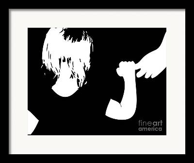 Parental Care Digital Art Framed Prints