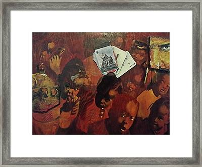 why Framed Print by Mark  Lawrence