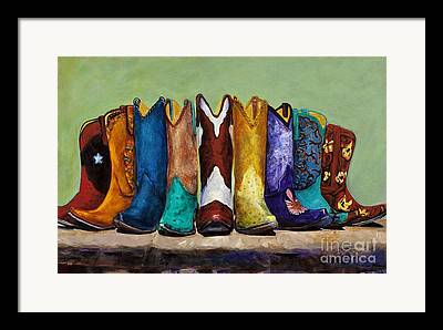Boots Framed Prints