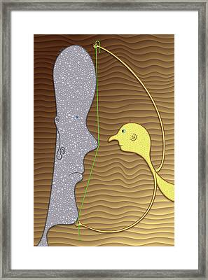 Why The Long Face? Framed Print