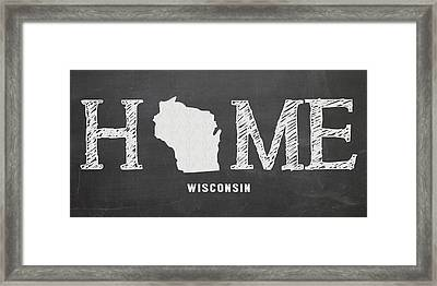 Wi Home Framed Print by Nancy Ingersoll
