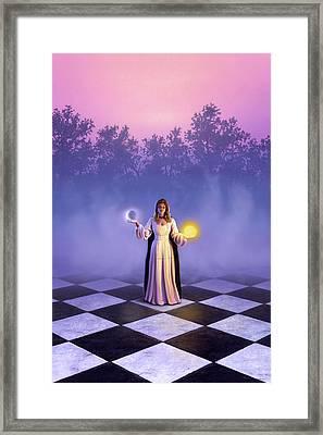 Wiccan Dawn Framed Print