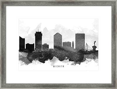 Wichita Cityscape 11 Framed Print