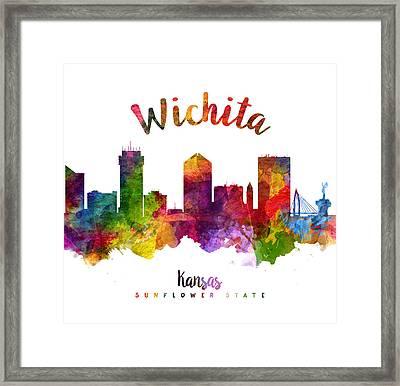 Wichita Kansas 23 Framed Print