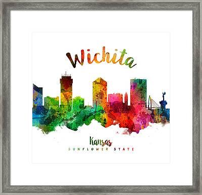 Wichita Kansas 24 Framed Print