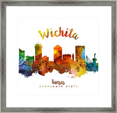 Wichita Kansas 26 Framed Print