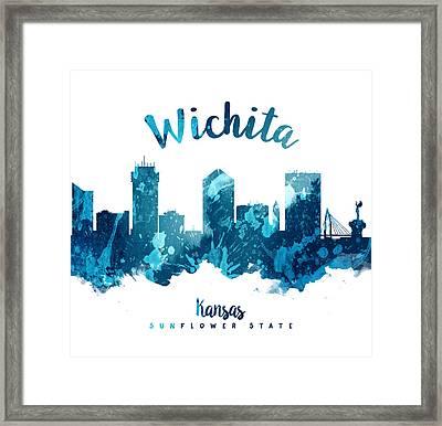 Wichita Kansas 27 Framed Print