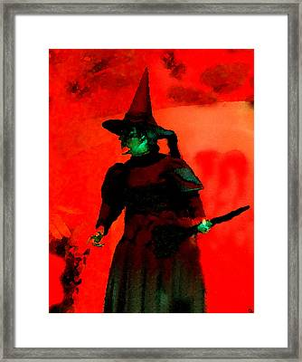 Wicked Framed Print by David Lee Thompson