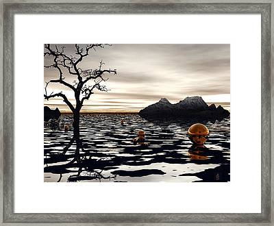 Wicked Game Framed Print by Julie King