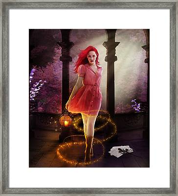 Wicked Framed Print by Mary Hood