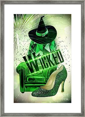 Wicked Framed Print