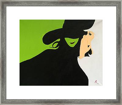 Wicked Framed Print by Steve Kelly