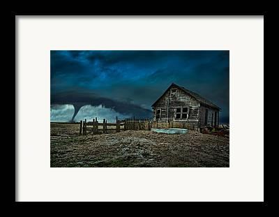 Wind Framed Prints