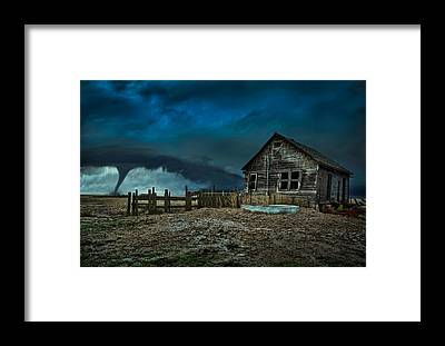 Wind Framed Prints