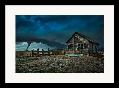 Plains Framed Prints