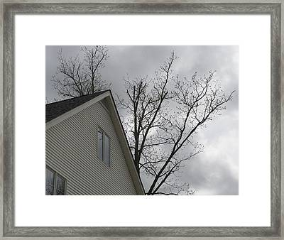 Wicked Weather Framed Print by Rosie Brown