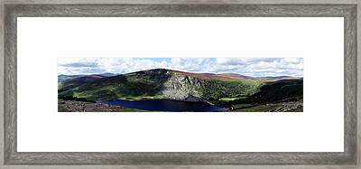 Wicklow Mountains In Ireland Framed Print