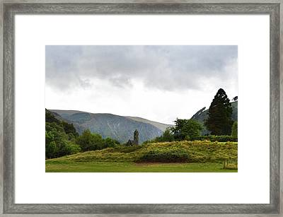 Framed Print featuring the photograph Wicklow Mountains by Terence Davis