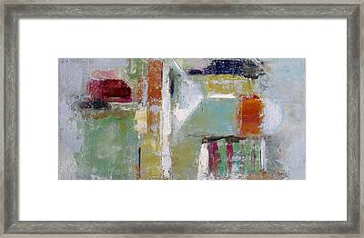Wide Abstract A Framed Print
