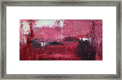 Wide Abstract C Framed Print