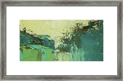 Wide Abstract H Framed Print