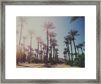 Wide Awake Framed Print