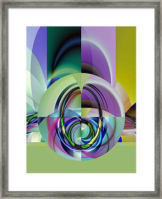 Wide Eye Framed Print by Frederic Durville