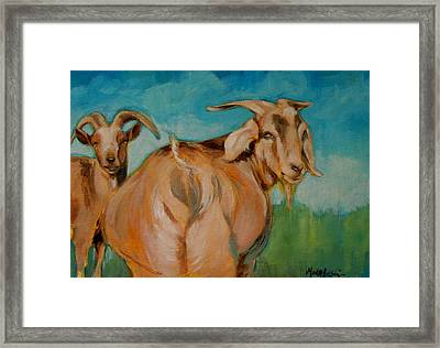 Wide Load Framed Print by Mary Leslie