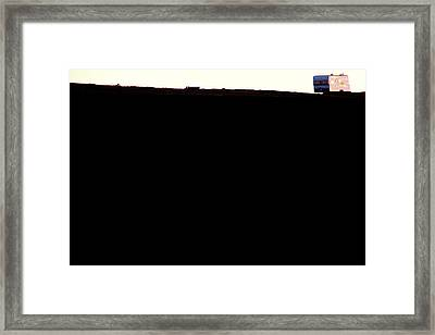 Framed Print featuring the photograph Wide Open Spaces by Al Swasey