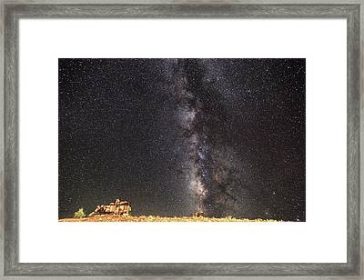 Wide Open Spaces Framed Print by Donna Kennedy
