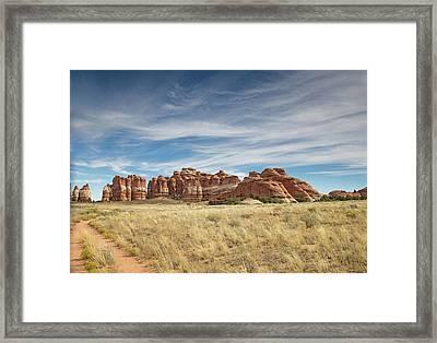 Wide Open Spaces Of Utah Framed Print by Kunal Mehra