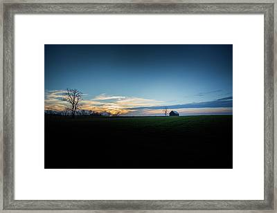 Framed Print featuring the photograph Wide Open Spaces by Shane Holsclaw