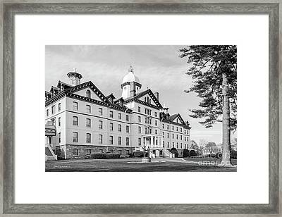 Widener University Old Main Framed Print by University Icons