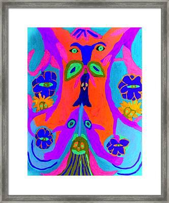 Widgets Framed Print by Betty  Roberts