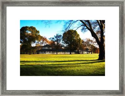 Widner Farm - Flourtown Framed Print by Bill Cannon