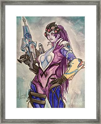 Widowmaker  Framed Print