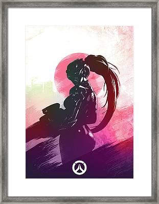 Widowmaker Overwatch Framed Print